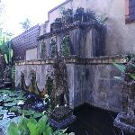 Rama Candidasa pond