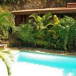 piscine+chambre orange