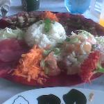 Fisherman's Platter - Tahiti Cafe (Rarotonga)