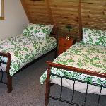 Twin room in Spring cottage