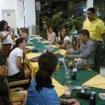 mesa para18 personas