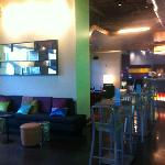 More sitting areas in the public bar/lounge area.
