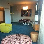 Another view of my suite - had a nice table/sitting area.