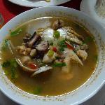 Sopa de Mariscos (Seafood Soup) at El Balcon