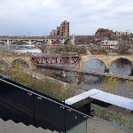 Mississippi River and Stone Arch Bridge