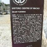 Monte Forte - UNESCO information