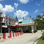 The entrance of Bukit Gambang water park
