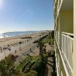 Ocean front view from 3rd floor ...