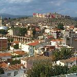 Burgblick von der Terrasse