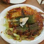 Mitchan special okonomiyaki