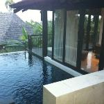 upper level of prime pool villa