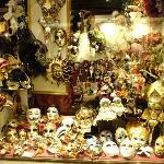 One of many venetian mask shops