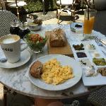 Frühstück auf Dizengoff Street