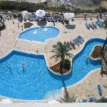 Amazing view of pools