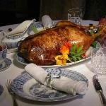 Roast goose ,a house speciality