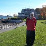 Bar Harbor--beginning the ocean trail