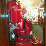 "Forgot to mention the mini ""Cornell"" store"