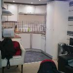 open plan accomodation