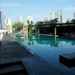 Swimming pool shared by Anantara/Oaks residents