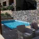 terrasse+piscine des suites