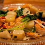 Shrimp with raw tahini (8.5/10)