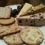selection of fantastic cheeses