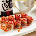 Hatsune's Legendary Sushi Rolls Pair Up Perfectly with a Bottle of Sake