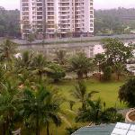 view of backwaters from room
