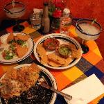 excellent food, tasty magaritas