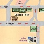 city map to Markakis studios