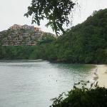 plage de l'hôtel
