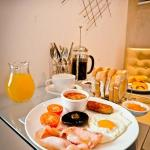 Breakfast served in your room