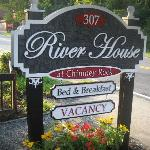 River House sign