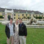 Outside the Schönbrunn Palace