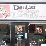 Cute little Baked Donut Shop in Downtown Denton TX