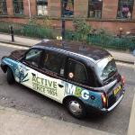 London Cab in Glasgow