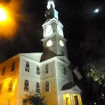 Nearby church - stunning at night