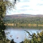View of the loch from the chalet