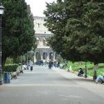 Domus Aurea park just a few meter
