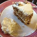 Coffee cake at the Forge