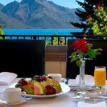 Delicious Breakfast with a Panoramic view