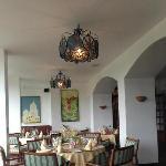 Dining room at Restaurante El Jardin