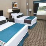 Rooms include a microwave, refrigerator, sink, coffeemaker, hairdryer, in-room safe, & Wi-Fi acc