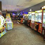 Cyber Quest is a supervised entertainment center is located in the hotel lobby.