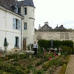 "The Garden is lovely..behind the ""chateau"""