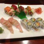 toro, rainbow roll, crunch roll
