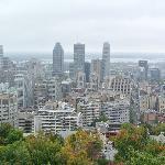 Uitzicht vanaf parc de Mont Royal