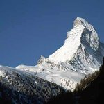 View of the Matterhorn (Le Cervin) that awaits visitors