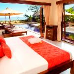 Grand beach Villa bedroom