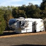 50 amp rv site, est. to be 100' long
